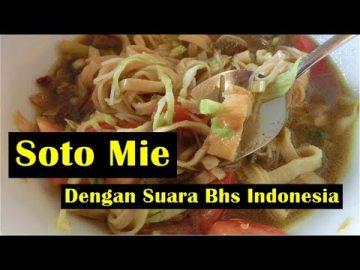 Soto Mie - Video Dengan Suara Bhs Indonesia