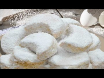 Resep Kue Putri Salju -  Lembut Dan Renyah - Kue Lebaran