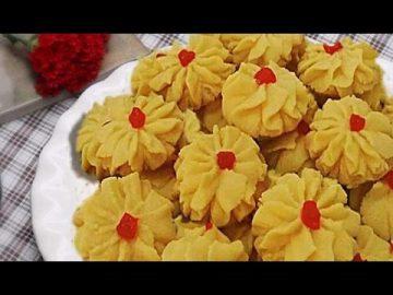Resep Kue Semprit Dahlia -  Renyah Dan Gurih -  Kue Lebaran