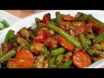 Resep Ayam Tumis  Buncis - Lezat Dan Sedaaap !!!