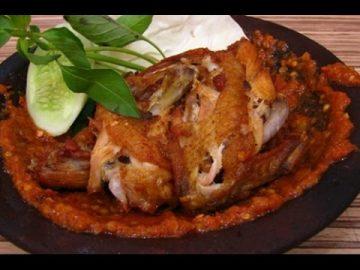 Resep Ayam Goreng Penyet  + Sambal Terasi Sedaap !!!