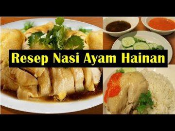 Resep Nasi Ayam Hainan - Enak Dan Nikmat