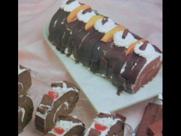 Resep Black Forest Roll