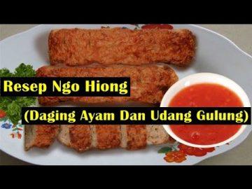 """Resep Ngo Hiong """"Five Spice Powder"""" ( Dada Ayam Dan Udang Gulung )"""
