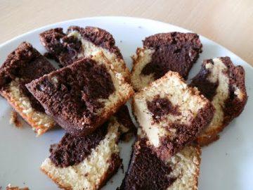 Cake Marmer Coklat