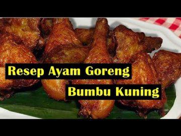 Resep- Ayam Goreng Bumbu Kuning -  Lezat