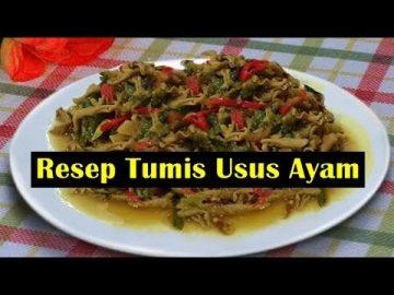 Resep Tumis Usus Ayam